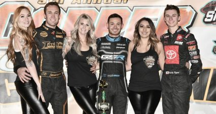 Larson Wins Copper Classic Opener