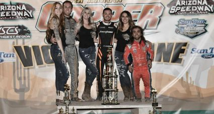 Larson Sweeps Copper Classic
