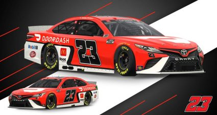 23XI Racing Reveals Paint Scheme