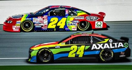 No. 24 Paint Schemes Through the Years