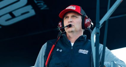 Letarte to Crew Chief No. 7 at Miami