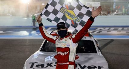 Snider Scores First Xfinity Win