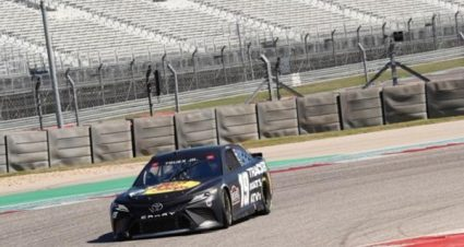 Drivers Test Tires at COTA