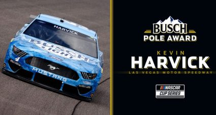 Las Vegas Pole to Harvick